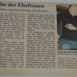 "Zeitungsartikel ""Die Bierkur"""
