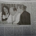 Zeitungsartikel Schrobenhausener Zeitung