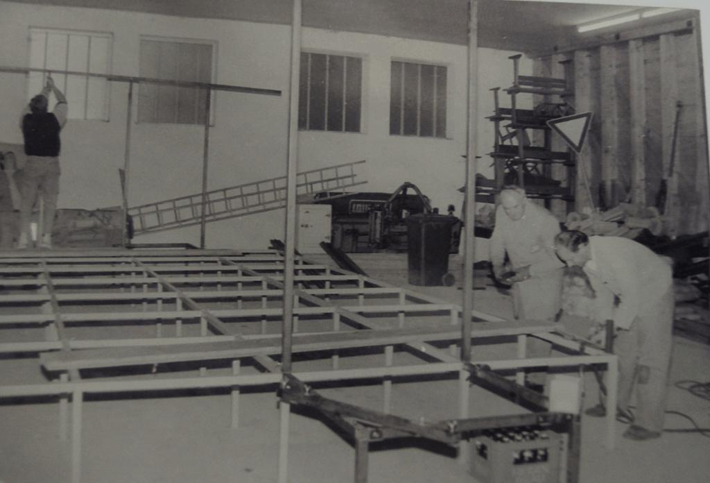 Theaterbühne von Franz Karl