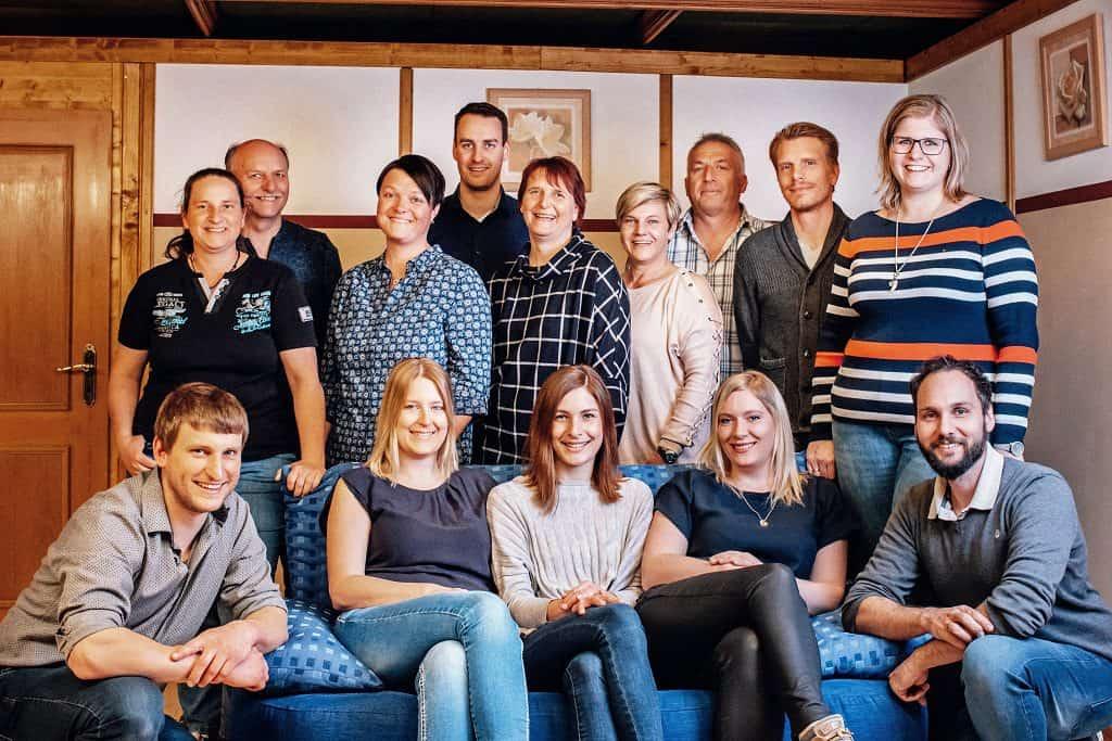 Gruppenbild Theatergruppe Gachenbach